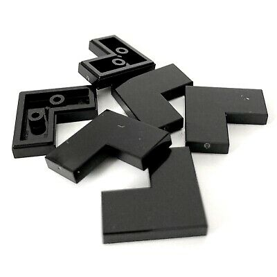 NEW LEGO® Black 2x2 Plate Tile With 2 Studs 33909 QTY X11