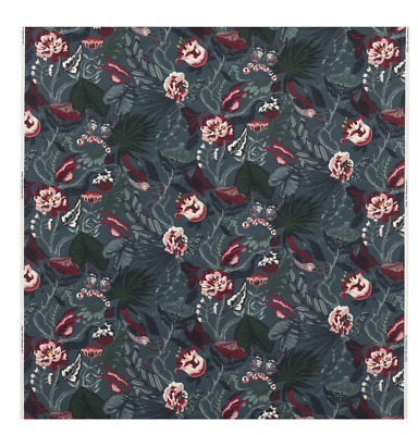 IKEA Idasofie Black//White Floral Fabric Material //Any length New