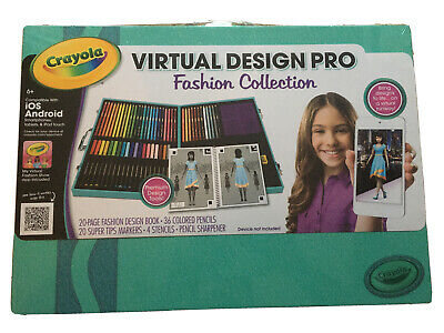 Crayola Car Design Kit Childrens Colouring Studio Designer Art Case Set 7 99 Picclick Uk
