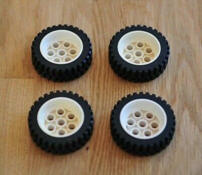 LEGO Large Wheel Tyre Inserts Middle Technic RED FAST FREE UK POSTAGE