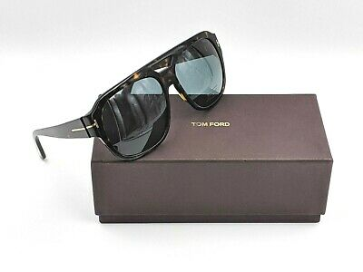 Brand New Authentic Tom Ford Sunglasses TF 0706 18C WEST Silver Frame FT TF706