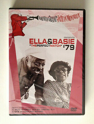 ELLA & BASIE DVD The Perfect Match 1979 RESTORED & REMASTERED All Regions New/Se