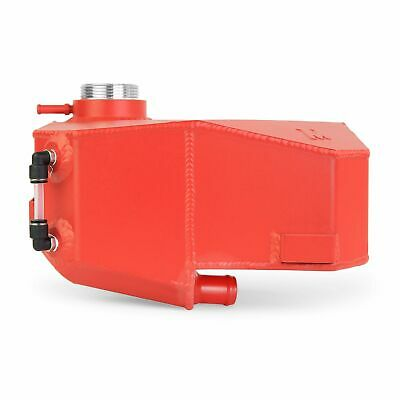 Mishimoto Aluminium Coolant Expansion Tank Fits Ford Focus ST 2013+ Wrinkle Red