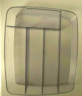 Longaberger Paper Tray Basket Flatware Divided Protector NIB