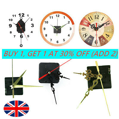 *DIY Black Quartz Wall Clock Movement Mechanism Replacement Repair Tool