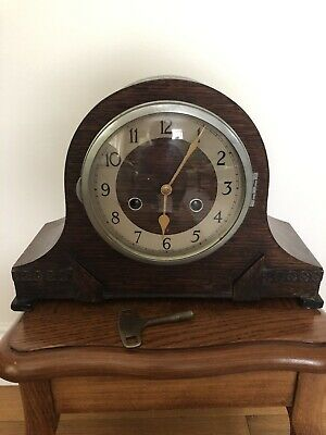 Norland Striking Wooden Mantle Clock