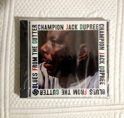 CHAMPION JACK DUPREE CD Blues From The Gutter ATCO 7567-82434-2 OOP * N/ewSealed