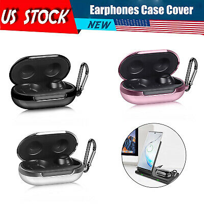 Clear 2020 Ringke Hinge Case Designed for Galaxy Buds Live Case Hard Shell Protective Cover with Keychain Carabiner