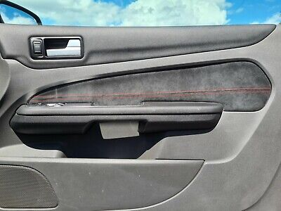 ford focus mk2 mk2.5 alcantara door card insert cover coloured stitching st rs s