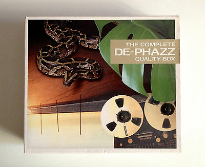 De-Phazz The Complete  QUALITY BOX 3CD   Edel Records   2003   OOP   L.K.to V.G