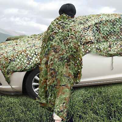 Filet Camouflage Jungle net Chasse Camping militaire Tir Cachette Armee 2x 1.5M