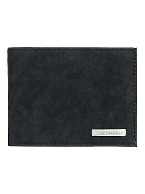 QUIKSILVER MENS WALLET.NEW ARCH SUPPLIER BROWN FAUX LEATHER MONEY NOTE PURSE W20