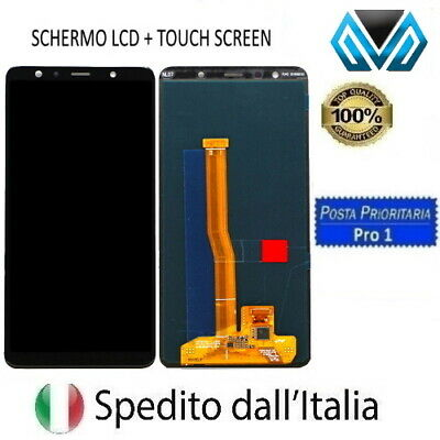 Touch Screen Schermo Per Samsung Galaxy A7 2018 Sm-A750Fn Vetro Lcd Display