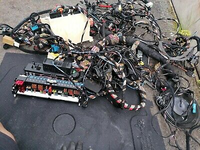 Bmw E46 3 Series 1.8 Petrol Complete Wiring Loom With Fuse Board