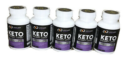 5 Bottles Of Limitless Energy Keto Weight Loss Ketogenic Diet Formula 60 Tablets