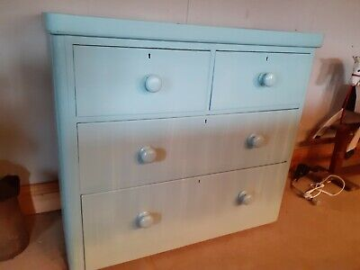 Painted Victorian Chest Of Draws