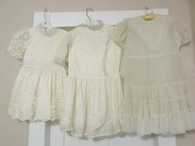 Vintage Girls Long Dresses Party Dress-Up Gowns Lot