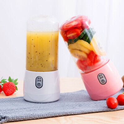 PORTABLE JUICER FRUIT Mixer Juice Blender 6 Blade USB