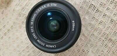 Canon Ef-s 18-55mm F/3.5-5.6 Is STM Lens Mint