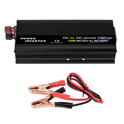 Power Inverter 6000W DC 24V to AC 240V Modified Sine Wave Car Boat Caravan Truck
