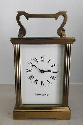 Mappin and Webb Carriage Clock