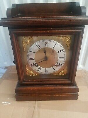 Antique Ansonia Mantle Clock Made In USA With Key Working