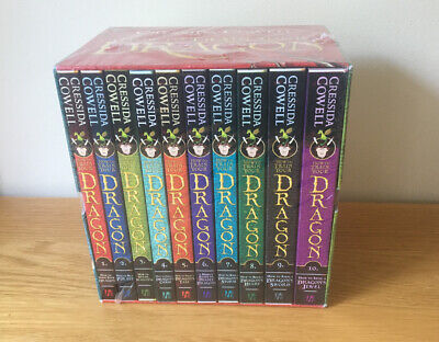 How to Train Your Dragon 10 x Book Collection Set By Cressida Cowell BRAND NEW