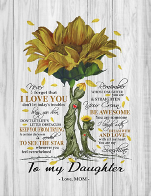 From Mom Canvas Framed 0.75in I Love You Quotes To My Daughter