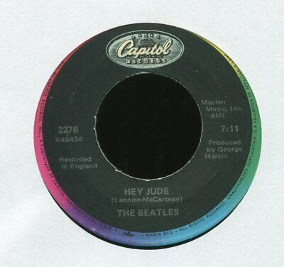 THE BEATLES Hey Jude on Capitol 45 Reissue