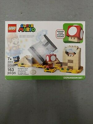 Lego 40414 Monty Mole and Super Mushroom Expansion Set New Sealed, In Hand!