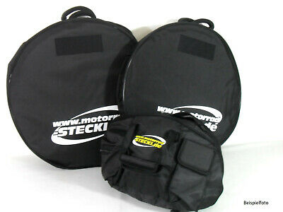Set Bicycle Bags Front+Rear Motorcycle To 17 Inch And Helmet Bag