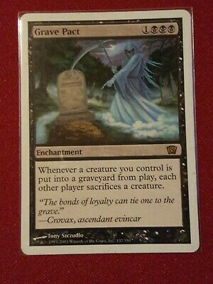 Grave Pact 1x MtG Stronghold ENGLISH PLAYED