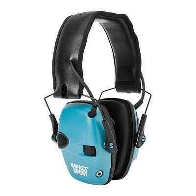 Howard Leight Impact Sport Electronic Folding Earmuffs Shooting Teal