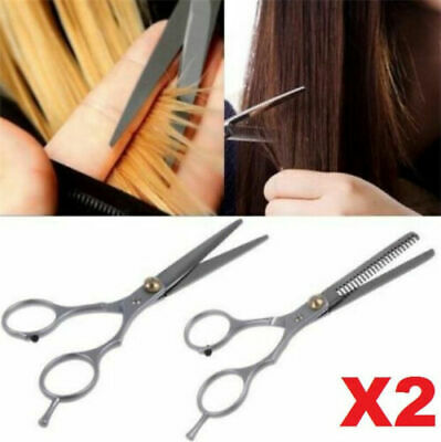 1 Set Professional Barber Hair Cutting +Thinning Scissors Shears Hairdressing *