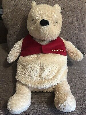 Boots Classic Winnie The Pooh Plush Hot Water Bottle And Pj Case - New No Tags