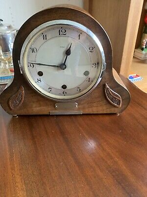 Vintage Enfield Striking 8 Day Mantel Clock