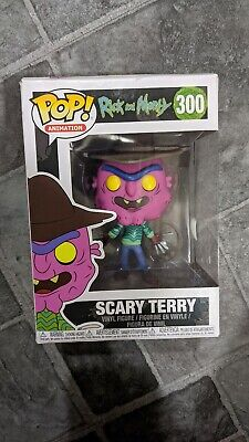 Funko Pop Animation Rick and Morty Vinyl Figure ~Still boxed~ Scary Terry #300
