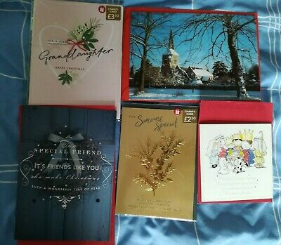 Selection of 5 Christmas cards