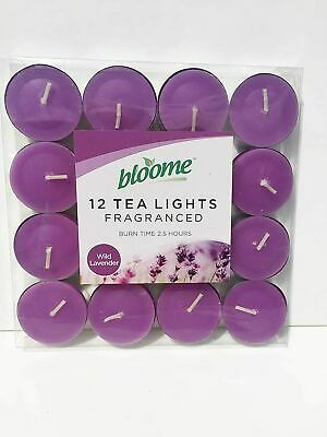 Variety of Fragrances bloome Scented Tea Light Candles 15 Pack Spring Mountain Tealights