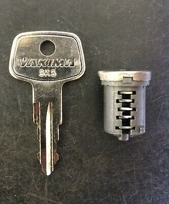 Yakima SKS Lock Core with Key 4 Pack Replacement Repair Fix Change