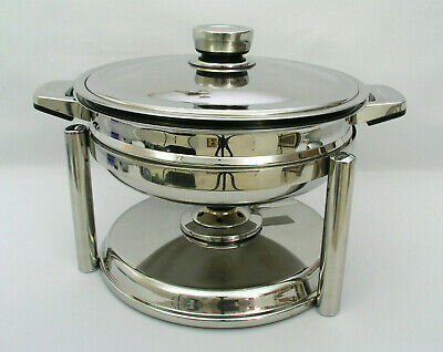 "Berghoff 11"" Food Warmer - 18/10 Stainless Steel - # 1103921 - Excellent Cond."
