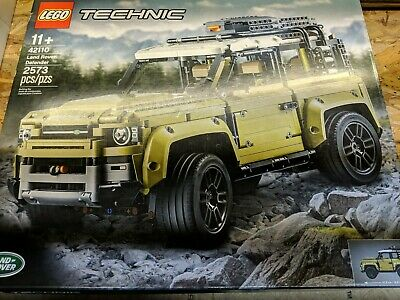 New Sealed LEGO Technic Land Rover Defender 42110 Fast Shipping look atthis deal