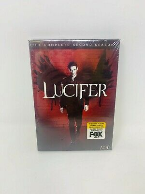 Lucifer: The Complete Second Season Brand New Sealed w/ Slipcover Free Shipping