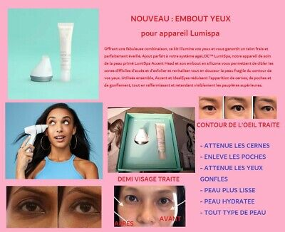 PROMO ETE Embout LUMISPAAccent & IdealEyes Yeux Anti cernes