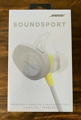 Bose SoundSport Wireless Headphones - Brand New - Citron - Factory Sealed