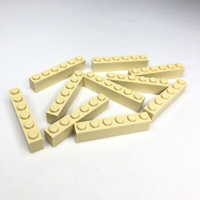 NEW LEGO Tan 1X6 Bricks Lot of 30 Pieces 3009 Sand