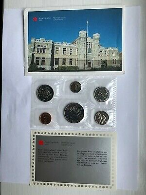 Canadian 1987 UNCIRCULATED Proof Like 6 Coin Set
