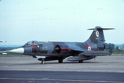 Original colour slide F-104S Starfighter MM6804//36-06 of 36 Stormo Italian AF