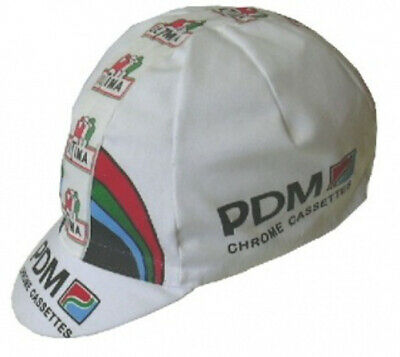 Cycling Cap PDM Chrome Cassettes white posted within one day