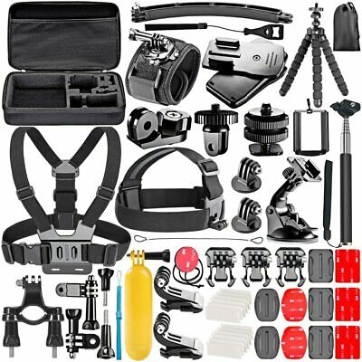 GoPro Accessories Action Set Hero 8 Kit Camera Black HD Sport Bundle Chest Strap
